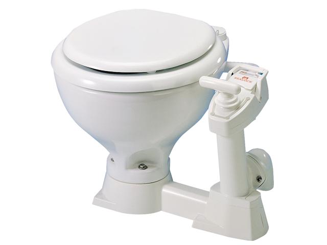 elektrische toilet boot